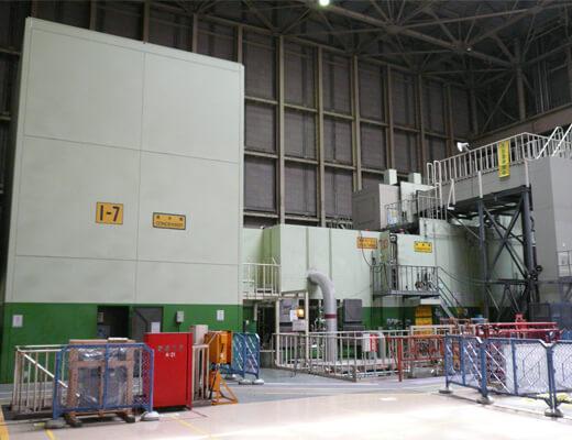 コンバインドサイクル発電機~復水器:点検前準備作業