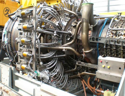 コンバインドサイクル発電用ガスタービン:換装工事